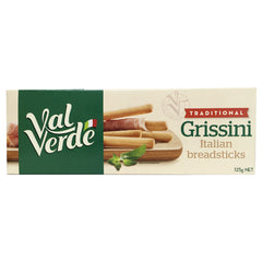 Val Verde - Biscuits Grissini - Traditional (125g)
