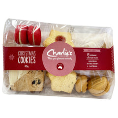 Charlies Cookies - Christmas Cookies - Mixed (225g)