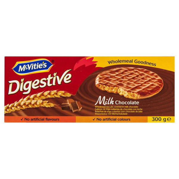 Mcvities Digestive Milk Chocolate 300g , Grocery-Biscuits - HFM, Harris Farm Markets  - 1