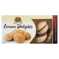 Crostoli King Lemon Delights 200g , Grocery-Biscuits - HFM, Harris Farm Markets  - 1