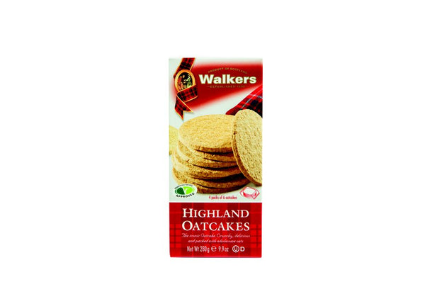 Walkers Highland Oatcakes x24 280g