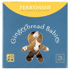 Perrymans Gingerbread Babies 70g , Grocery-Biscuits - HFM, Harris Farm Markets  - 1