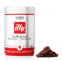 Illy - Beans Coffee Grani - Beans Grains - Medium Roast (Beans, 250g)
