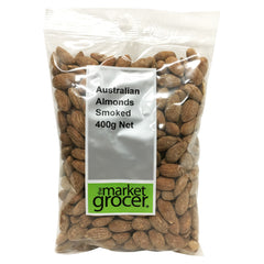 The Market Grocer - Almonds Smoked (400g)
