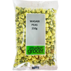 The Market Grocer - Nuts Wasabi Peas | Harris Farm Online