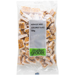The Market Grocer - Apricot & Coconut Slice (500g)