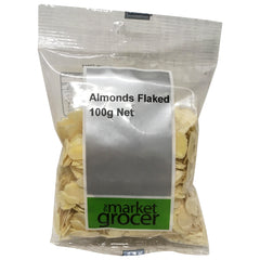 The Market Grocer - Almonds Flaked (100g)
