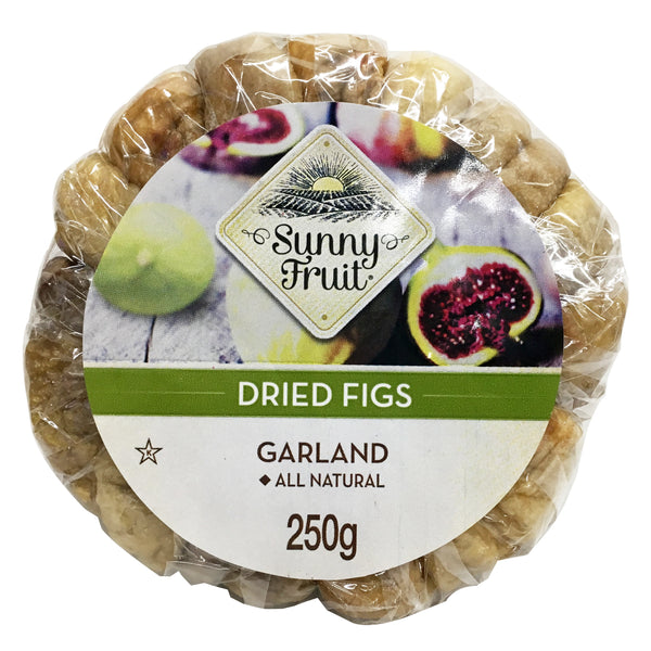 Sunny Fruit - Figs Dried (250g)
