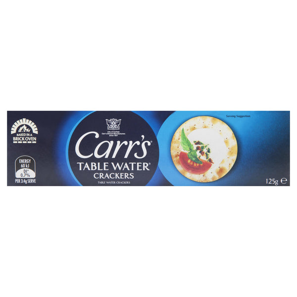 Carrs Crackers Plain 125g , Grocery-Crackers - HFM, Harris Farm Markets  - 1