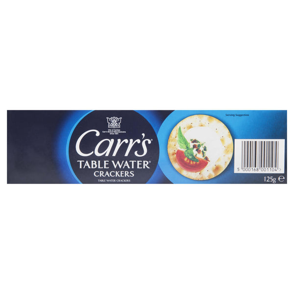 Carrs Crackers Plain 125g , Grocery-Crackers - HFM, Harris Farm Markets  - 2