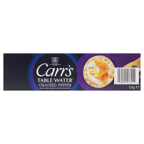 Carrs Crackers Pepper 125g , Grocery-Crackers - HFM, Harris Farm Markets  - 2
