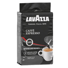 Lavazza - Coffee Espresso - No.5 Intense and Velvety - Medium Roast (GROUND, 200g)