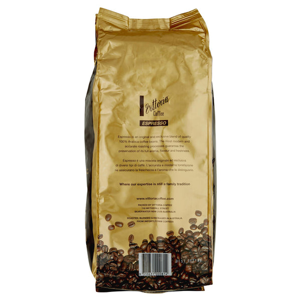 Vittoria Espresso Coffee Arabica Beans 1kg , Grocery-Coffee - HFM, Harris Farm Markets  - 2