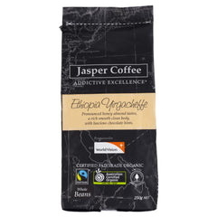 Jasper Bean Coffee Ethi 250g , Grocery-Coffee - HFM, Harris Farm Markets  - 1