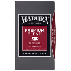 Madura - Tea - Premium Blend (50 Teabags) | Harris Farm Online