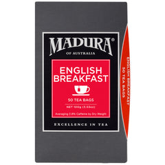 Madura - Tea - English Breakfast | Harris Farm Online