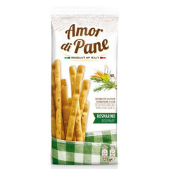 Amor Di Pane - Biscuits Breadsticks - Rosemary Grissini | Harris Farm Online