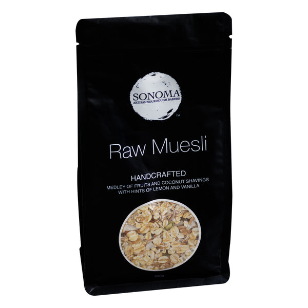 Sonoma - Muesli Raw Natural (500g)