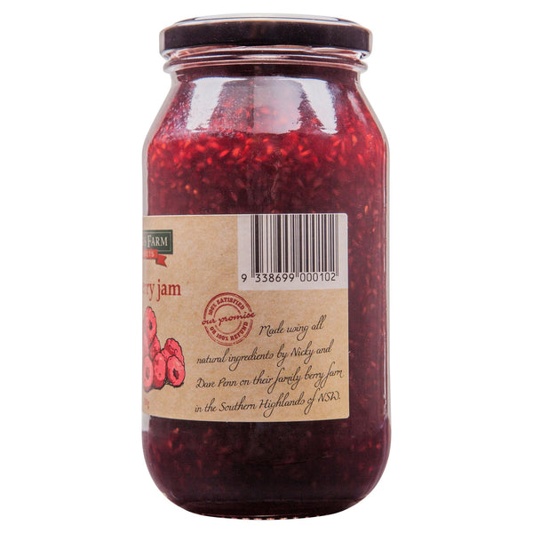 Harris Farm Raspberry Jam 620g , Grocery-Spreads - HFM, Harris Farm Markets  - 3
