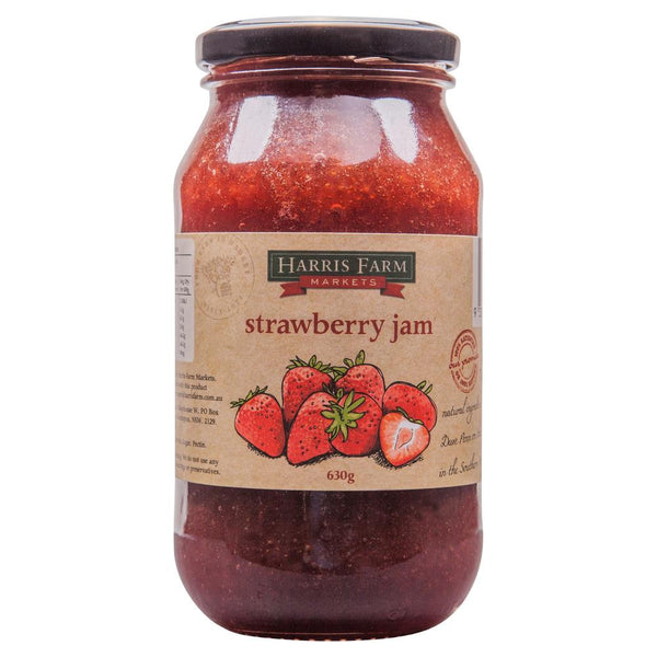 Harris Farm Strawberry Jam 620g , Grocery-Spreads - HFM, Harris Farm Markets  - 1