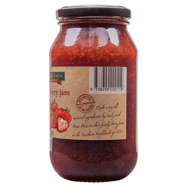 Harris Farm Strawberry Jam 620g , Grocery-Spreads - HFM, Harris Farm Markets  - 3