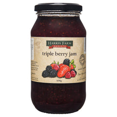 Harris Farm Triple Berry Jam 620g , Grocery-Spreads - HFM, Harris Farm Markets  - 1