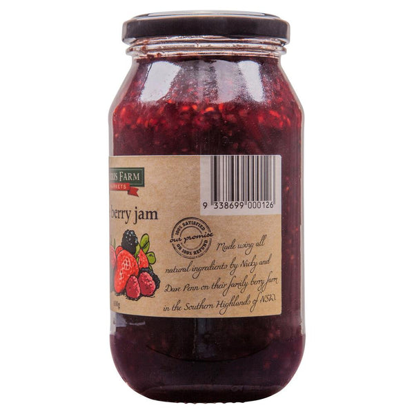 Harris Farm Triple Berry Jam 620g , Grocery-Spreads - HFM, Harris Farm Markets  - 3