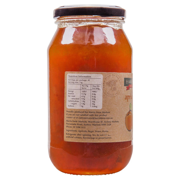 Harris Farm Apricot Jam 620g , Grocery-Spreads - HFM, Harris Farm Markets  - 2