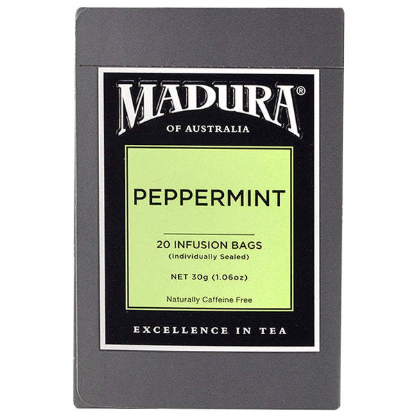 Madura - Teabags Peppermint (20 infusion Teabags, 30g)