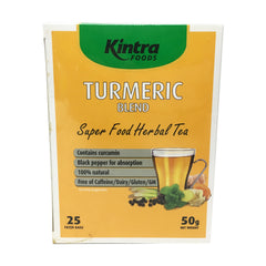 Kintra Foods - Tea Turmeric Blend - Herbal Tea (25 teabags, 50g)