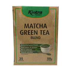 Kintra Foods - Matcha Green Tea Blend (25 teabags, 50g)