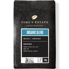 Toby's Estate - Coffee Whole Beans - Organic Blend | Harris Farm Online