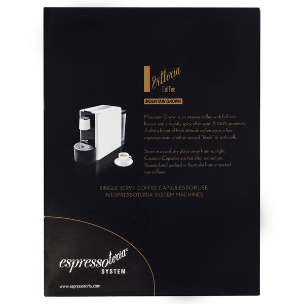 Vittoria Mountain Grown Coffee Capsules Large 78g , Grocery-Coffee - HFM, Harris Farm Markets  - 2