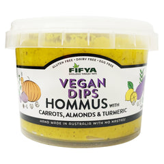 Fifya Vegan - Hommus - Carrots, Almonds and Turmeric (250g)