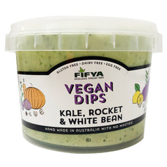 Fifya Vegan Dips Kale, Rocket and White Bean 250g
