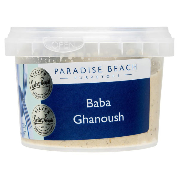 Paradise Beach Purveyors Baba Ghanoush 230g , Frdg1-Antipasti - HFM, Harris Farm Markets  - 2