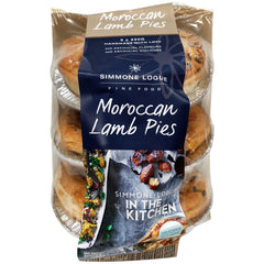 Simmone Logue - Pies Moroccan Lamb (3 pies x 220g)