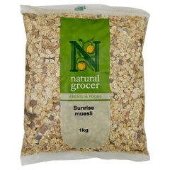 Natural Grocer Muesli Sunrise 1kg , Grocery-Cereals - HFM, Harris Farm Markets  - 1