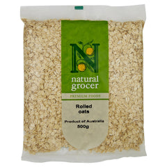 Natural Grocer Rolled Oats 500g , Grocery-Cereals - HFM, Harris Farm Markets  - 1