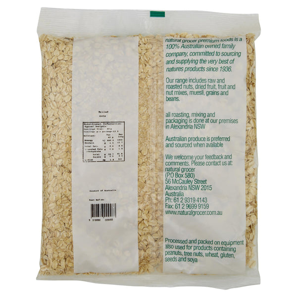 Natural Grocer Rolled Oats 500g , Grocery-Cereals - HFM, Harris Farm Markets  - 2