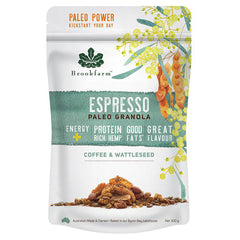 Brookfarm Espresso Paleo Coffee and Wattleseed Granola | Harris Farm Online