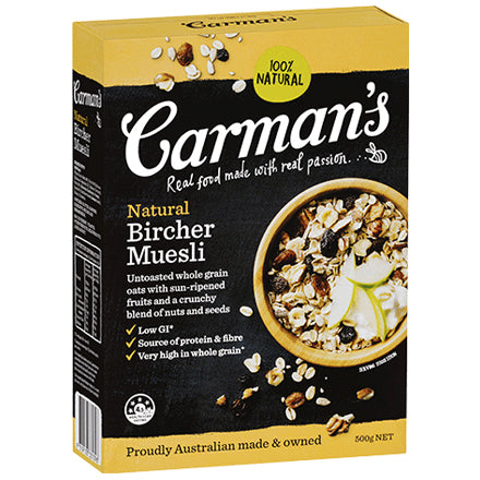 Carman's Muesli - Natural Bircher | Harris Farm Online