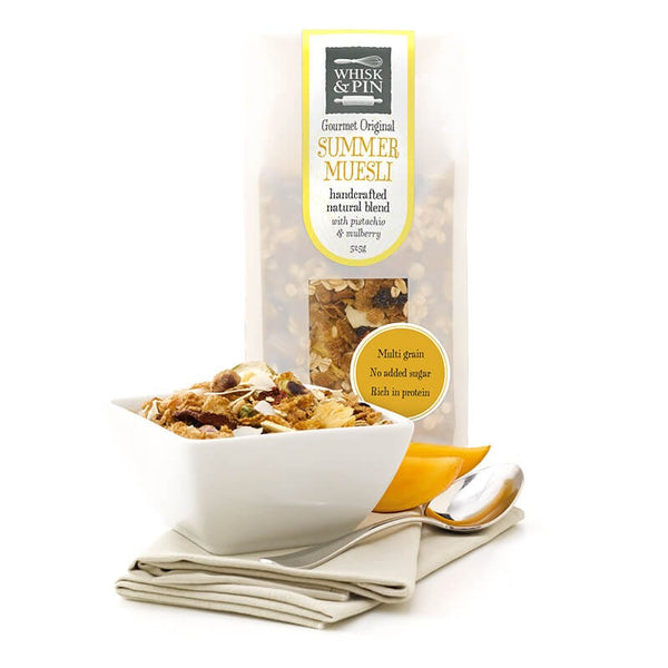 Whisk and Pin Summer Muesli Pistachio and Mulberry 525g