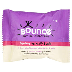 Bounce Natural Energy Ball Superberry 42g , Grocery-Confection - HFM, Harris Farm Markets  - 1