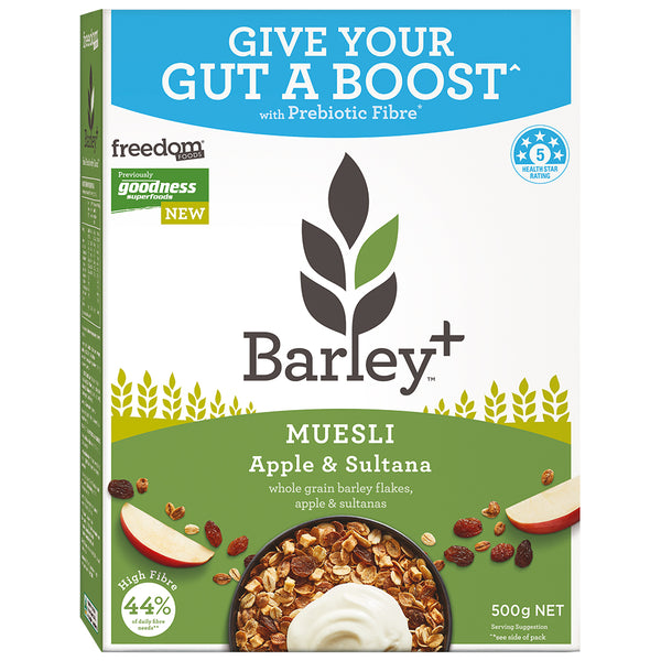 Freedom Foods - Barley Muesli - Apple and Sultana (500g)