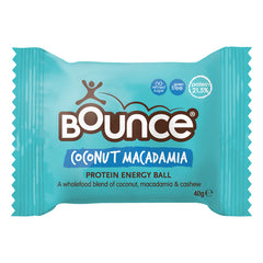 Bounce - Natural Energy Ball - Coconut Macadamia (40g)