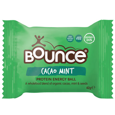 Bounce - Natural Energy Ball - Cacao Mint (42g)