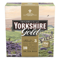 Taylors - Tea Yorkshire Gold (100 Teabags, 240g)