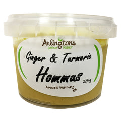 Arlingtons Ginger and Tumeric Hommus 225g