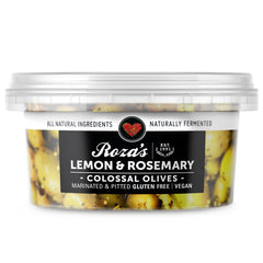 Roza's Gourmet - Colossal Olives - Lemon & Rosemary | Harris Farm Online